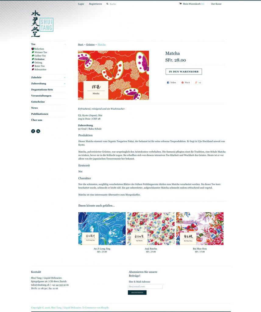 Shuitang.ch | Produktseite